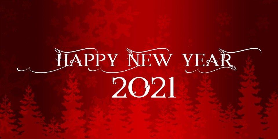 صور وبطاقات تهنئة بالسنة الميلادية الجديدة 2021